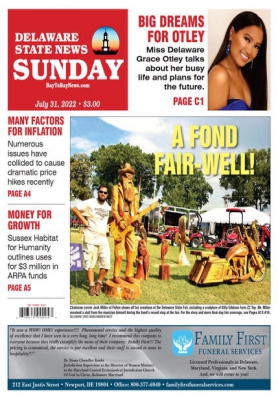 Delaware State News front page